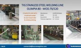 OLIMPIA80 TIG Stainless Steel Welding Line 70/120