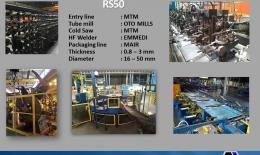 MTM / OTO MILLS / MAIR / EMMEDI Tube Mill 50x3