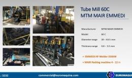 MTM / MAIR / EMMEDI Línea de Tubos 60C