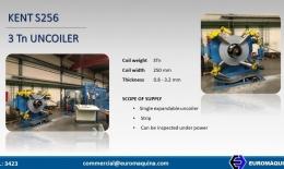 KENT Uncoiler S256 3Tn