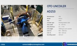 OTO MILLS Uncoiler AD253