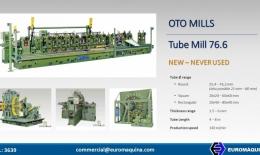 OTO MILLS Línea de Tubos 76x6