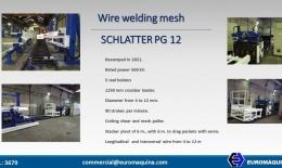 Wire welding mesh