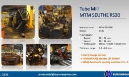 MTM SEUTHE Tube Mill 32x2.5