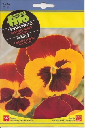 PENSAMIENTO GIGANTE SUIZO TRICOLOR (0,45 gr.).