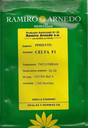 PIMIENTO CELTA F-1 (1.000 Semillas).