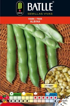 HABA ALBINA Tipo Baby (250 gr.).