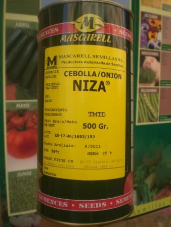 CEBOLLA NIZA (500 gr.).
