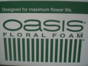 "ESPONJA FLORAL ""OASIS-IDEAL MAXLIFE (1010)"""
