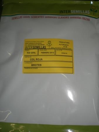 COL LOMBARDA / COL ROJA - PARA BROTES (500 gr.).