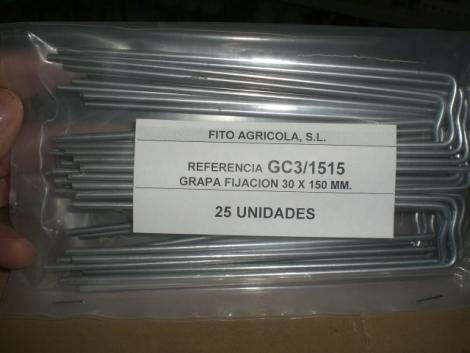 GRAPAS METALICAS (25 unid.).