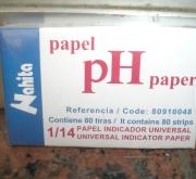 PAPEL PH 1-14 (80 Tiras)