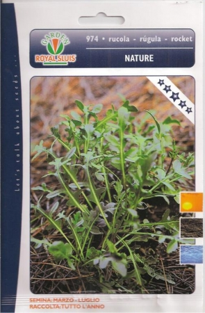 RUCULA NATURE (Cerca de 5.500 Semillas)