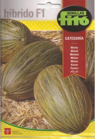 MELON CATEGORIA F1 (60 semillas).