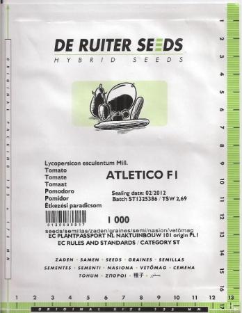 TOMATE ATLETICO F1 (1000 Semillas).