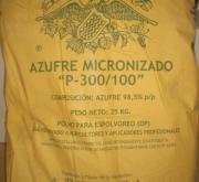 AZUFRE MICRONIZADO P-300/100 (25 Kgr.) - Mínimo 5...