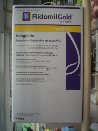 RIDOMIL GOLD MZ PEPITE (5 Kgr.).