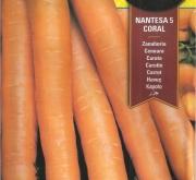 ZANAHORIA NANTESA 5-CORAL (15 gr.).