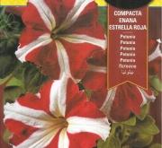 PETUNIA COMPACTA ENANA ESTRELLA ROJA (0,6 gr.).