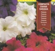 PETUNIA COMPACTA ENANA VARIADA (0,6 gr.).