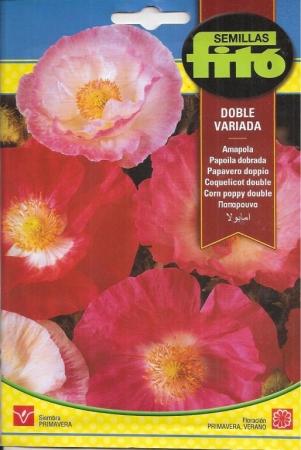 AMAPOLA DOBLE VARIADA