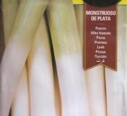 PUERRO MONSTRUOSO DE PLATA