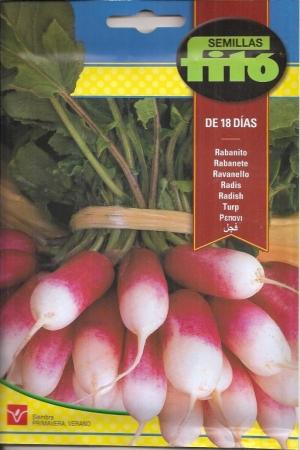 RABANITO DE 18 DÍAS (De Dix - Huit Jours) (20 gr.).