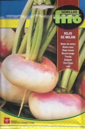 NABO DE MESA ROJO DE MILAN (20 gr.)