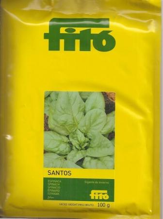 ESPINACA GIGANTE DE INVIERNO SANTOS (100 gr.).