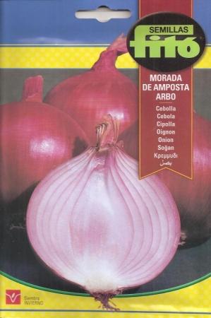 CEBOLLA MORADA DE AMPOSTA ARBO (7 gr.).