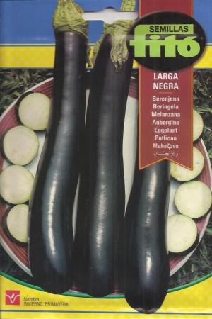 BERENJENA LARGA NEGRA (5 gr.).