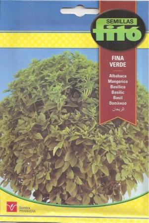 ALBAHACA FINA VERDE (4,5 gr.).