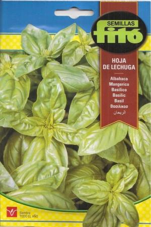 ALBAHACA HOJA DE LECHUGA (4,5 gr.).