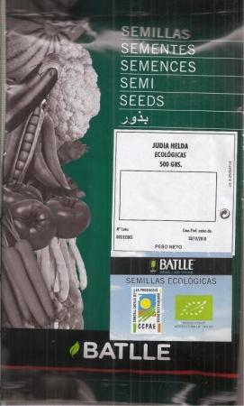 JUDIA HELDA ECOLÓGICA (500 gr.).