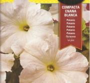 PETUNIA COMPACTA ENANA BLANCA (0,6 gr.).