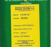 LECHUGA ISASA Pildorada (250 Semillas)
