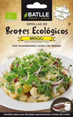 BRÓCOLI - PARA BROTES (6 gr.).