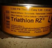 LECHUGA TRIATHLON RZ Pildorada (5.000 Semillas)
