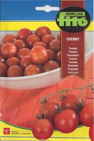tomate cherry redondo rojo