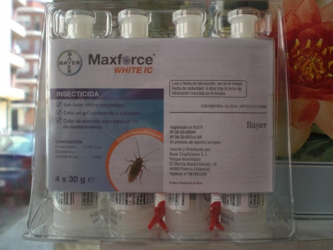 MAXFORCE WHITE IC (120 gr. ) [P] - Blister de 4x30 gr.