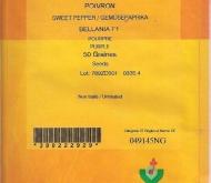 PIMIENTO BELLANIA F1 (50 Semillas).