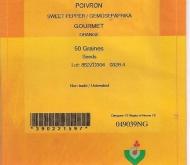 PIMIENTO GOURMET (50 Semillas).