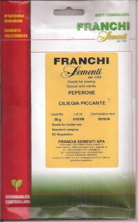 PIMIENTO CILIEGIA PICCANTE (50 gr.).