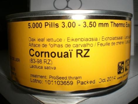 LECHUGA CORNOUAÏ RZ Precisión Píldorada (5.000 Semillas).