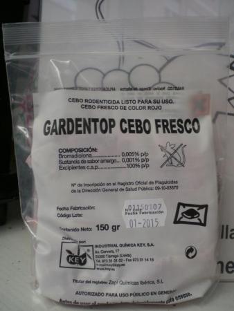 GARDEN TOP CEBO FRESCO (150 gr.)