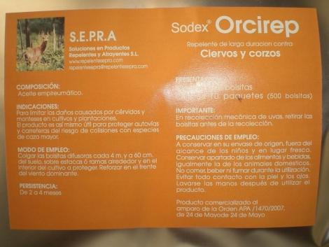 CERVIREP Ciervos y Cabras Montesas (500 Bolsitas).