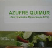 AZUFRE QUIMUR PM (1,350 Kgr. - Caja con 30x45...