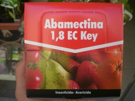 ABAMECTINA 1,8 EC KEY (375 c.c. - Caja con 25x15 c.c.).