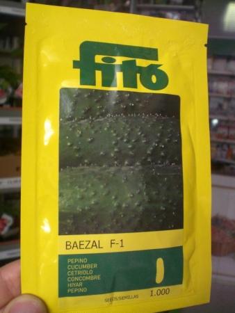 PEPINO BAEZAL F1 (1000 Semillas)
