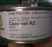 LECHUGA CAVERNET RZ- Envase de 5000 semillas...